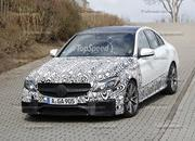 Spy Shots: 2015 Mercedes-Benz C63 AMG Drops Camouflage - image 546958