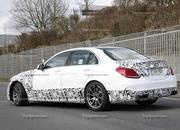 Spy Shots: 2015 Mercedes-Benz C63 AMG Drops Camouflage - image 546961