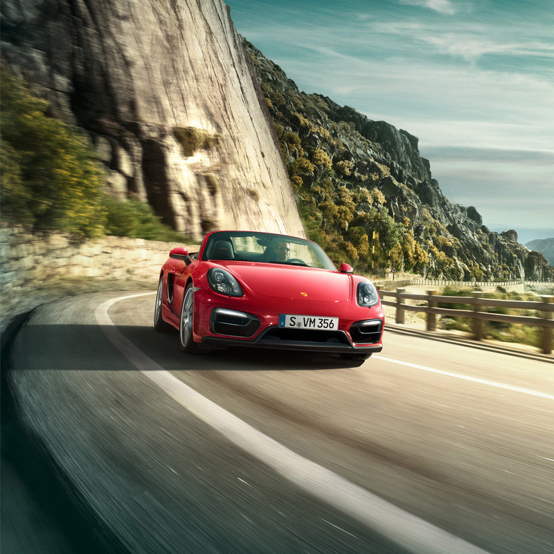 Range-Topping Boxster GTS and Cayman GTS Make Their Debut High Resolution Exterior - image 546375