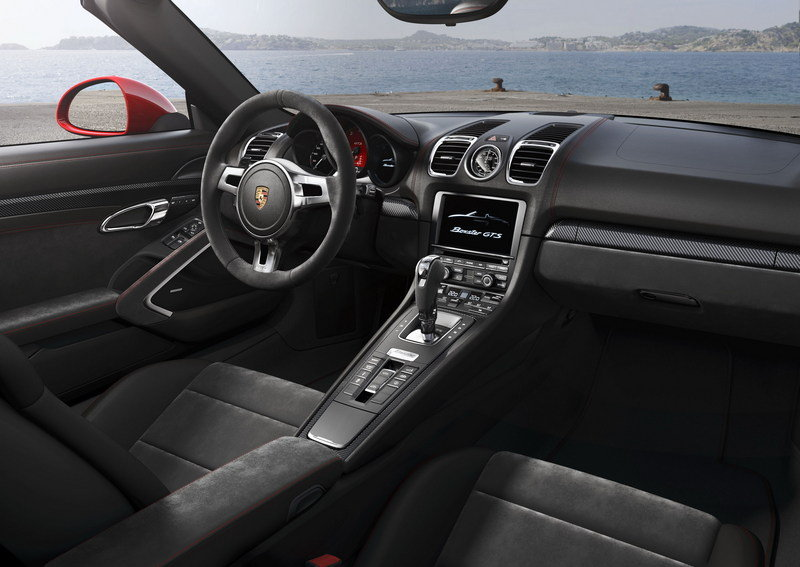Range-Topping Boxster GTS and Cayman GTS Make Their Debut High Resolution Interior - image 546390