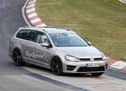 Spy Shots: Volkswagen Golf R Variant Caught Testing At Nurburgring - image 547070