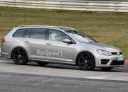 Spy Shots: Volkswagen Golf R Variant Caught Testing At Nurburgring - image 547071
