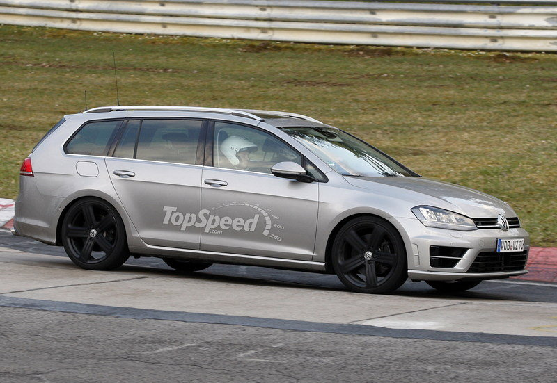 Spy Shots: Volkswagen Golf R Variant Caught Testing At Nurburgring Exterior Spyshots - image 547071