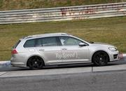 Spy Shots: Volkswagen Golf R Variant Caught Testing At Nurburgring - image 547072