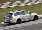 Spy Shots: Volkswagen Golf R Variant Caught Testing At Nurburgring - image 547073