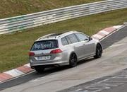 Spy Shots: Volkswagen Golf R Variant Caught Testing At Nurburgring - image 547074