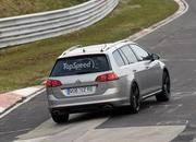 Spy Shots: Volkswagen Golf R Variant Caught Testing At Nurburgring - image 547075
