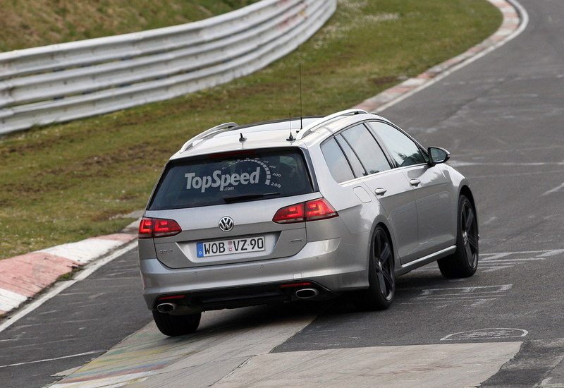 Spy Shots: Volkswagen Golf R Variant Caught Testing At Nurburgring