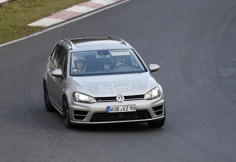 Spy Shots: Volkswagen Golf R Variant Caught Testing At Nurburgring Exterior Spyshots - image 547068