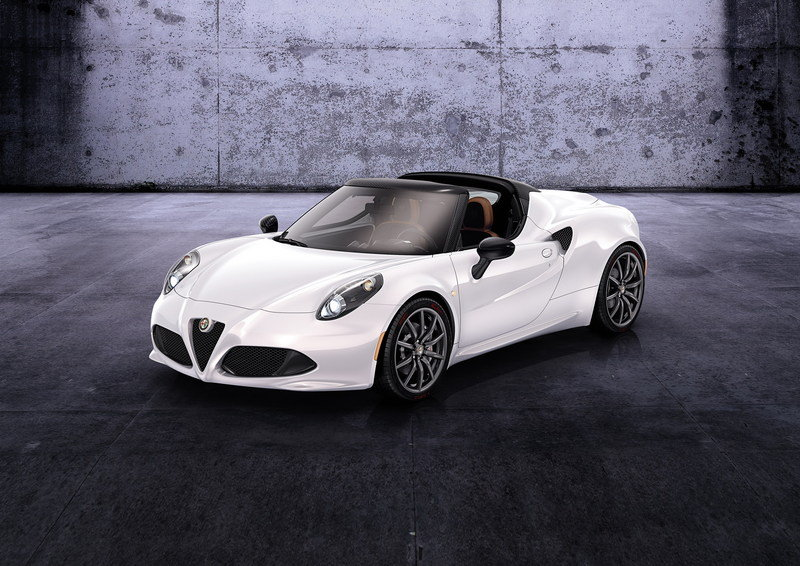 2016 Alfa Romeo 4C Spider High Resolution Exterior Wallpaper quality - image 544409