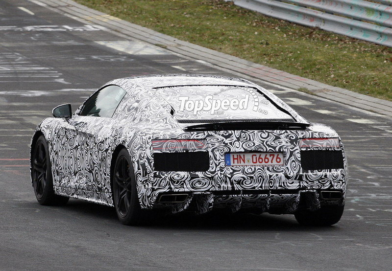 Spy Shots: 2016 Audi R8 Caught Testing for the First Time