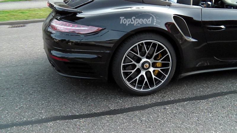 2017 Porsche 911 Turbo High Resolution Exterior Spyshots - image 547365