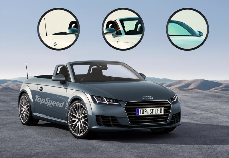 2016 Audi TT Roadster Exclusive Renderings - image 545865