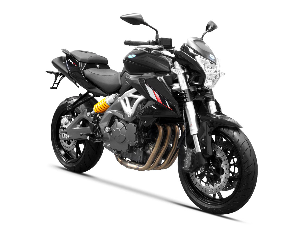 2014 Benelli BN600I Review - Top Speed