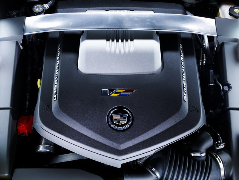 2014 Cadillac CTS-V Coupe High Resolution Drivetrain - image 545750