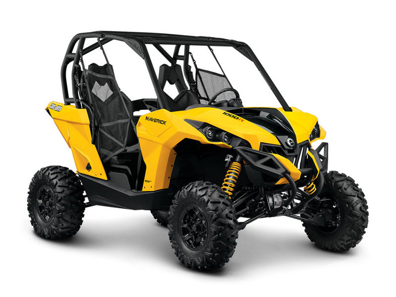 2014 Can-Am Maverick X rs DPS High Resolution Exterior - image 546100
