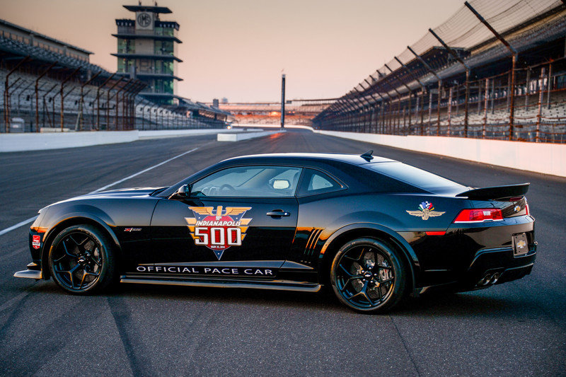 2014 Chevrolet Camaro Z/28 Indy 500 Pace Car High Resolution Exterior - image 546887