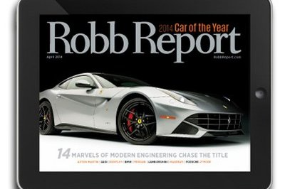 Ferrari F12berlinetta Named Robb Report 2014 Car Of The Year