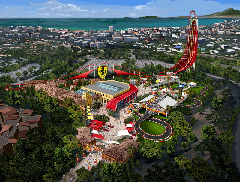 Ferrari will Build New Prancing Horse Theme Park in Spain - image 545832
