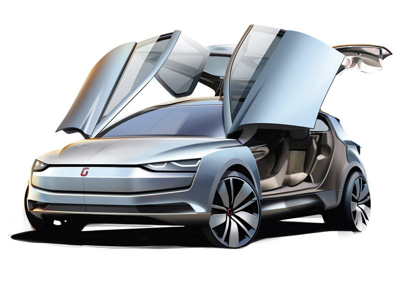 2014 Giugiaro Clipper Exterior Computer Renderings and Photoshop - image 544987