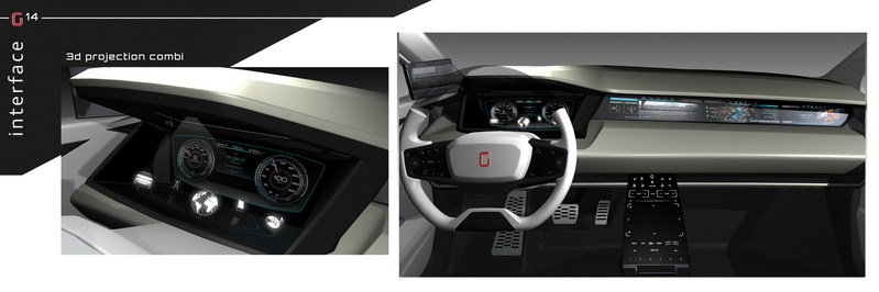 2014 Giugiaro Clipper Interior Computer Renderings and Photoshop - image 544997