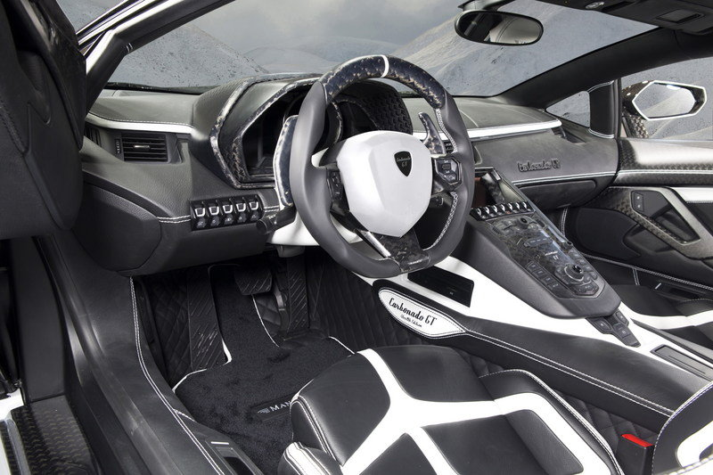 2014 Lamborghini Aventador Carbonado GT By Mansory High Resolution Interior - image 544225