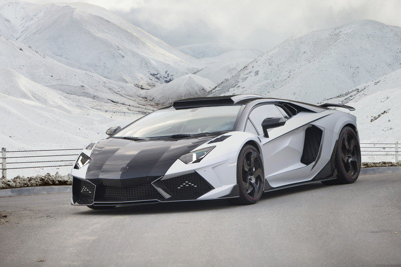 2014 Lamborghini Aventador Carbonado GT By Mansory High Resolution Exterior Wallpaper quality - image 544220