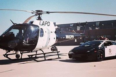 LAPD Receives a Lamborghini Gallardo for Promotional Purposes