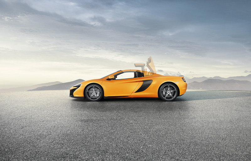 2015 McLaren 650S Spider High Resolution Exterior - image 544398