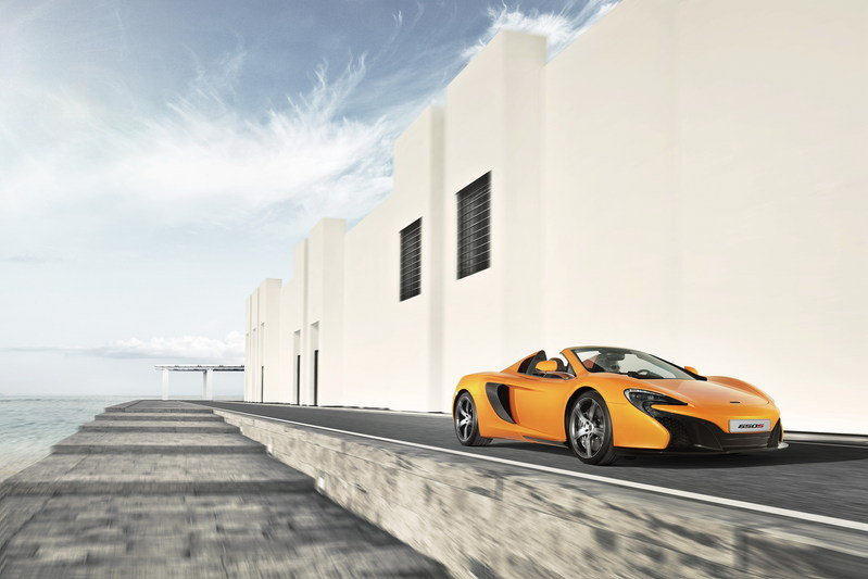 2015 McLaren 650S Spider High Resolution Exterior - image 544400