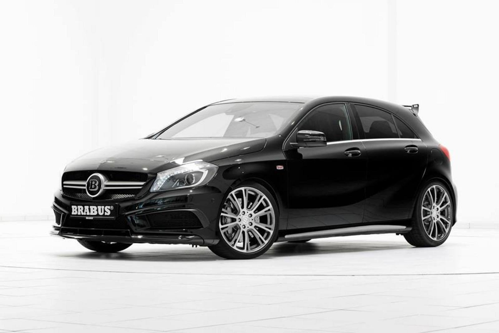 2014 mercedes benz a45 amg by brabus review top speed. Black Bedroom Furniture Sets. Home Design Ideas