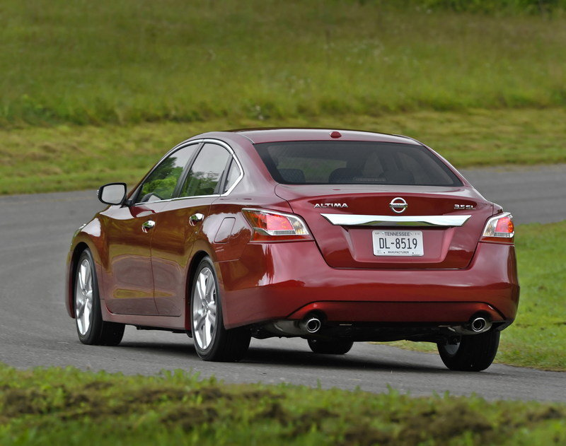 2014 - 2015 Nissan Altima High Resolution Exterior - image 546922