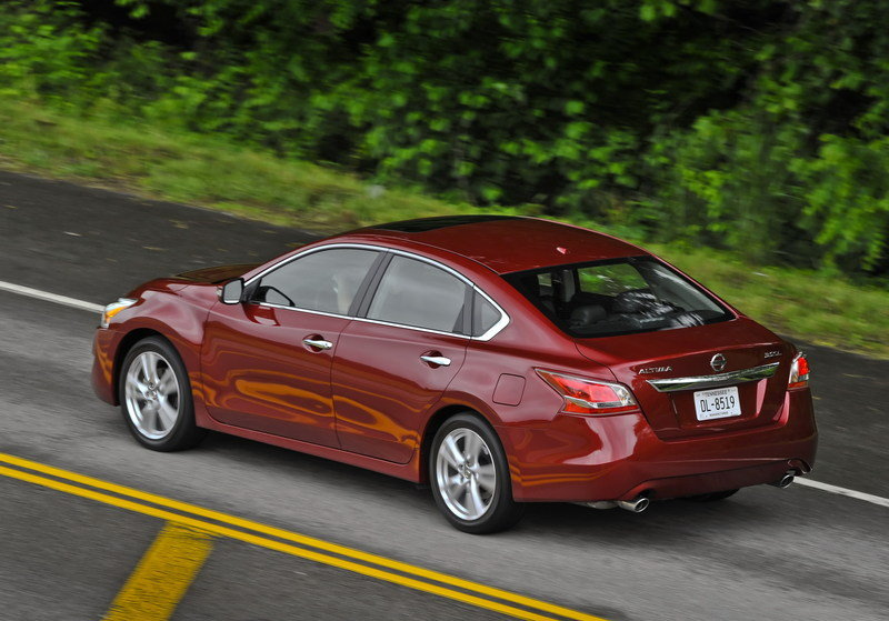 2014 - 2015 Nissan Altima High Resolution Exterior - image 546924