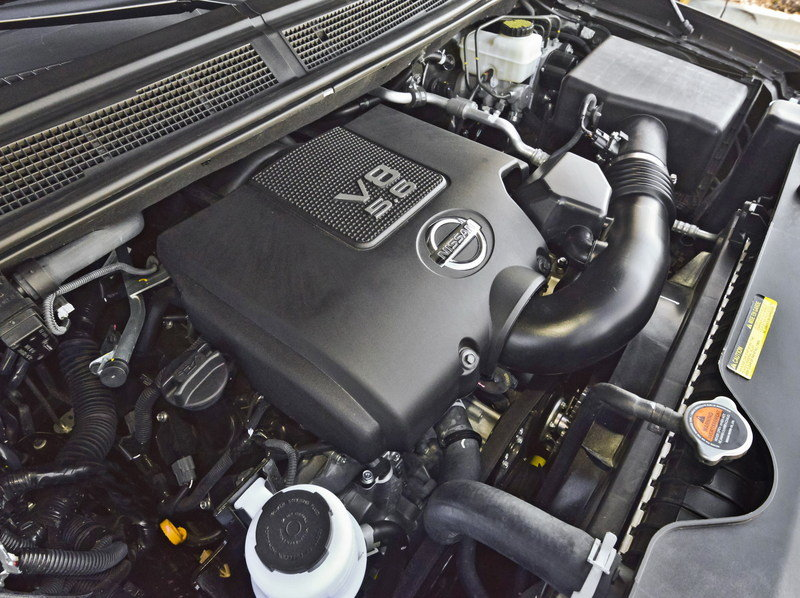 2014 Nissan Armada High Resolution Drivetrain - image 547153