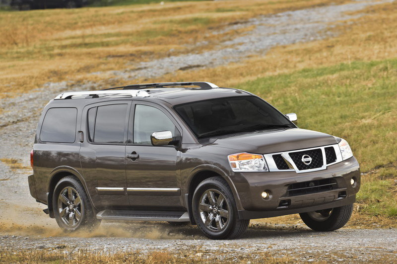2014 Nissan Armada High Resolution Exterior - image 547138