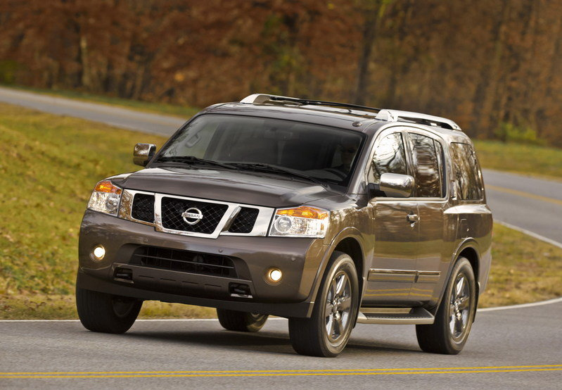 2014 Nissan Armada High Resolution Exterior - image 547139