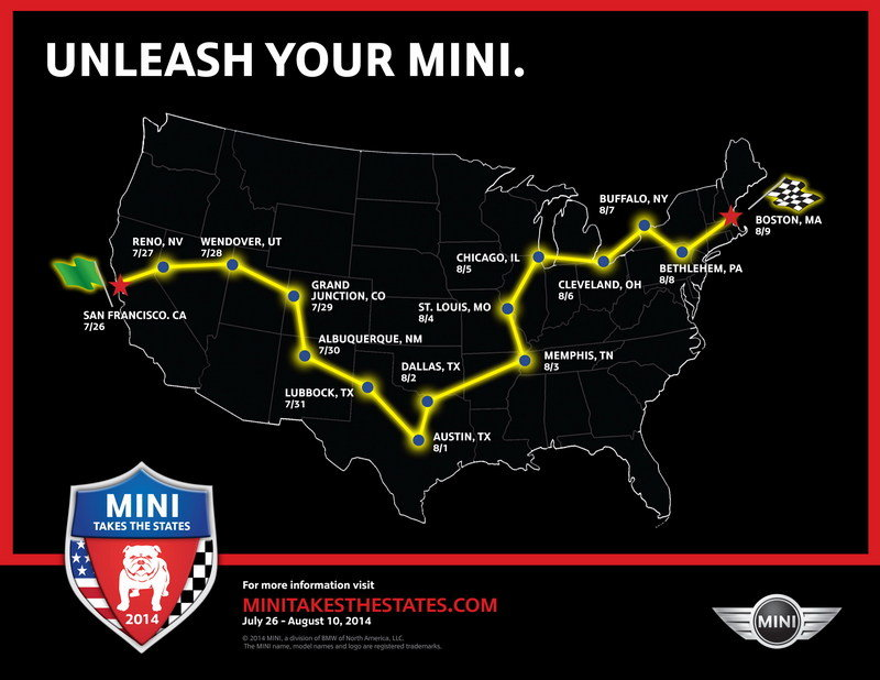 You May Now Register for Mini Takes the States 2014
