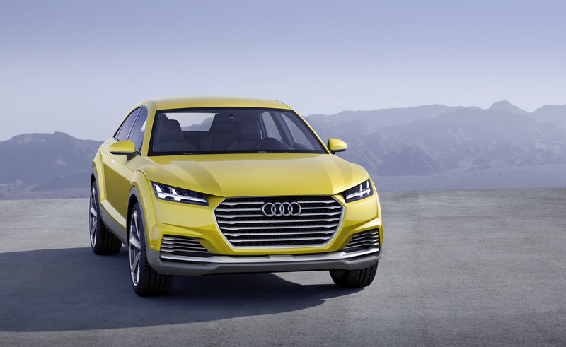 The Audi Q4 Will Supposedly Stand Out from the Lineup, But We Have Our Doubts High Resolution Exterior - image 550406