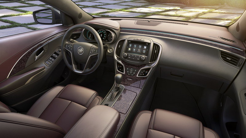 Buick Adds an Ultra Luxury Interior Package to the 2014 LaCrosse