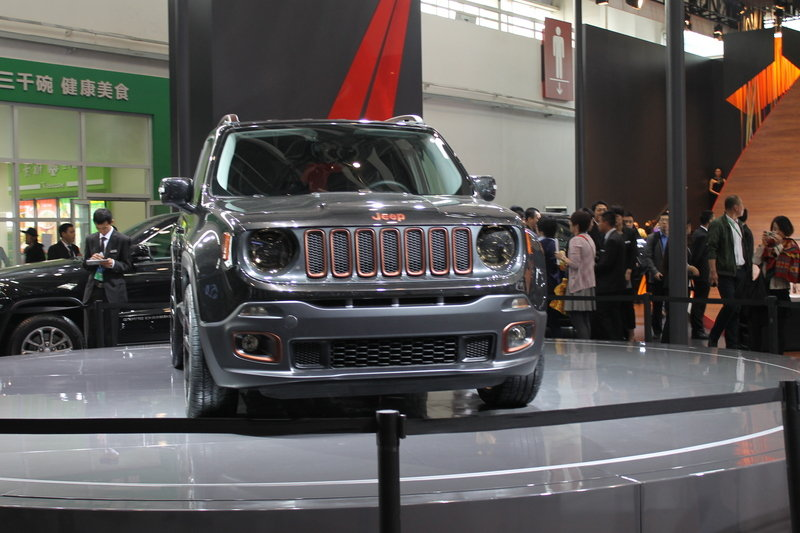 2014 Jeep Renegade Zi You Xia Concept Exterior AutoShow - image 550423