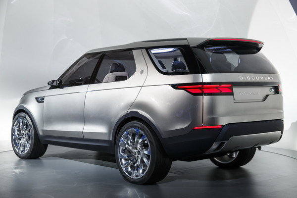 2014 Land Rover Discovery Vision Concept Car Review