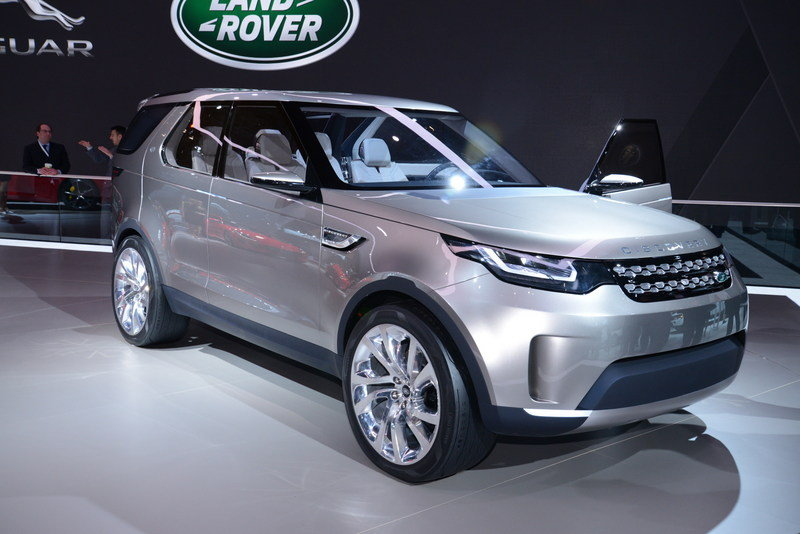 2014 Land Rover Discovery Vision Concept Exterior AutoShow - image 549401
