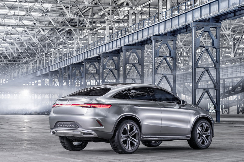 2014 Mercedes-Benz Concept Coupe SUV High Resolution Exterior - image 550287