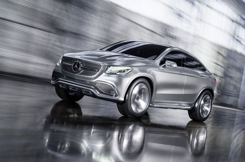 2014 Mercedes-Benz Concept Coupe SUV High Resolution Exterior - image 550290