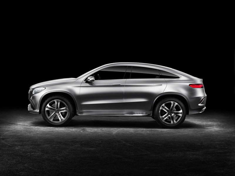 2014 Mercedes-Benz Concept Coupe SUV High Resolution Exterior - image 550282