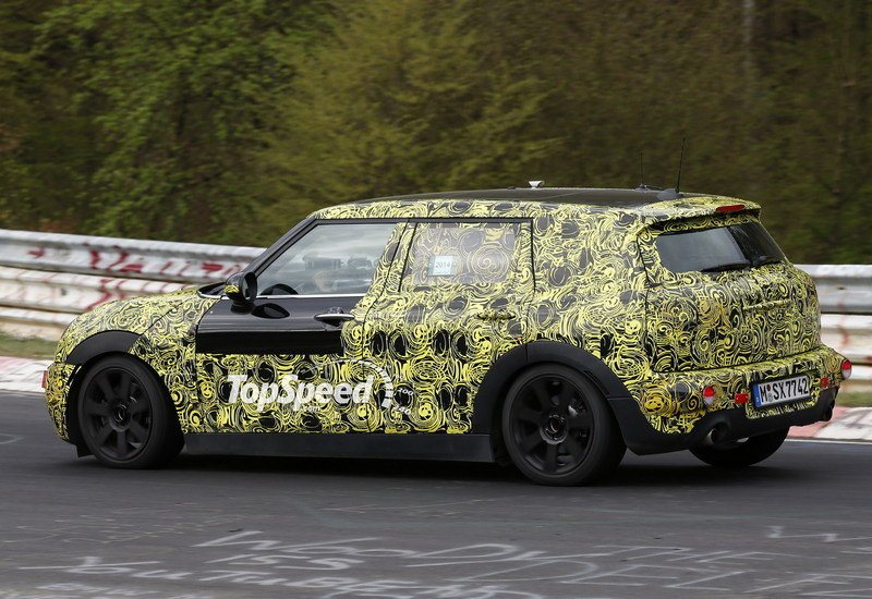 Spy Shots: Mini Clubman Caught During its First Nürburgring Run