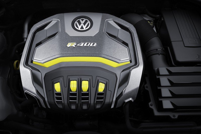 2014 Volkswagen Golf R 400 Concept High Resolution Drivetrain - image 550151