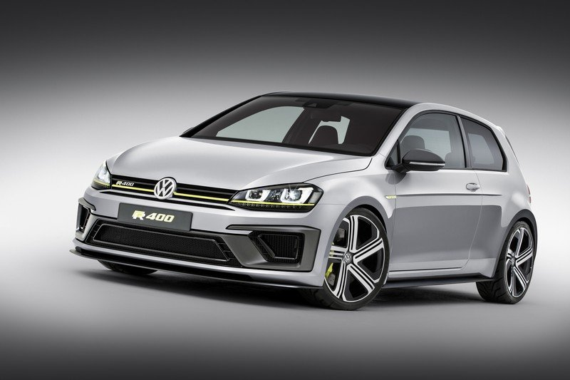 2014 Volkswagen Golf R 400 Concept High Resolution Exterior Wallpaper quality - image 550145