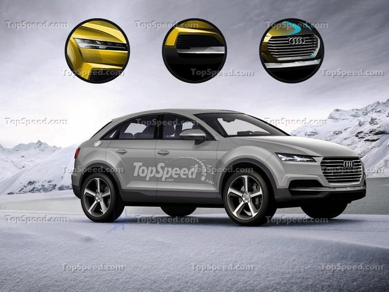 The Audi Q4 Will Supposedly Stand Out from the Lineup, But We Have Our Doubts Exclusive Renderings - image 548156