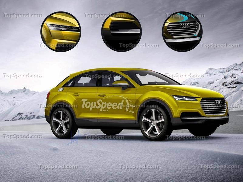 The Audi Q4 Will Supposedly Stand Out from the Lineup, But We Have Our Doubts Exclusive Renderings - image 548154